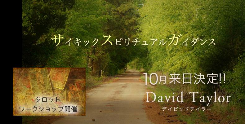 デイビッドテイラー来日